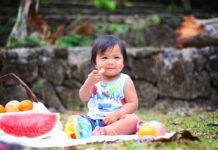 Piknik z maluszkiem